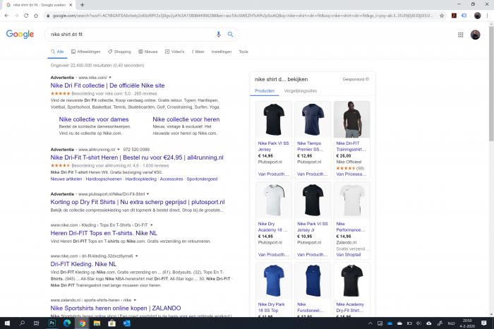 Google zoekmachine optimalisatie